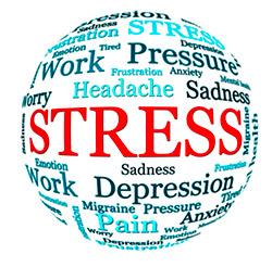 stress words circle