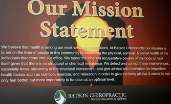 Our Chiropractic Mission