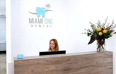 Receptionist at Miami One Dental