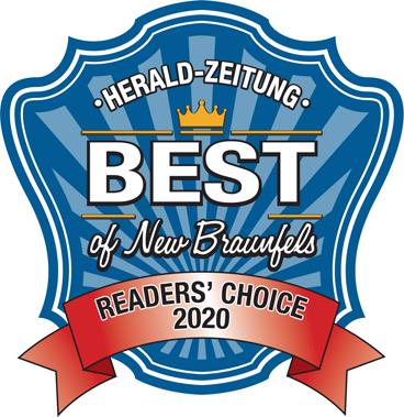 Reader's Choice 2020 - Best of New Braunfels