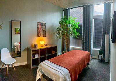 Photo of our Massage Room