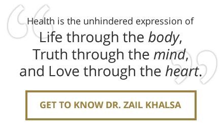 Get to know Dr. Zail Khalsa