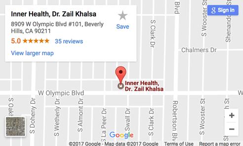 Map to Inner Health, Dr. Zail Khalsa