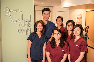 The team at Just White Dental