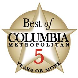 Best of Columbia Metropolitan 5 years or more