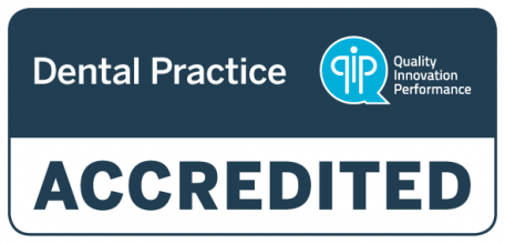 QIP Accredited logo