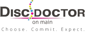 Disc Doctor on Main logo - Home
