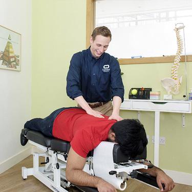 chiropractor-michael-adjustment