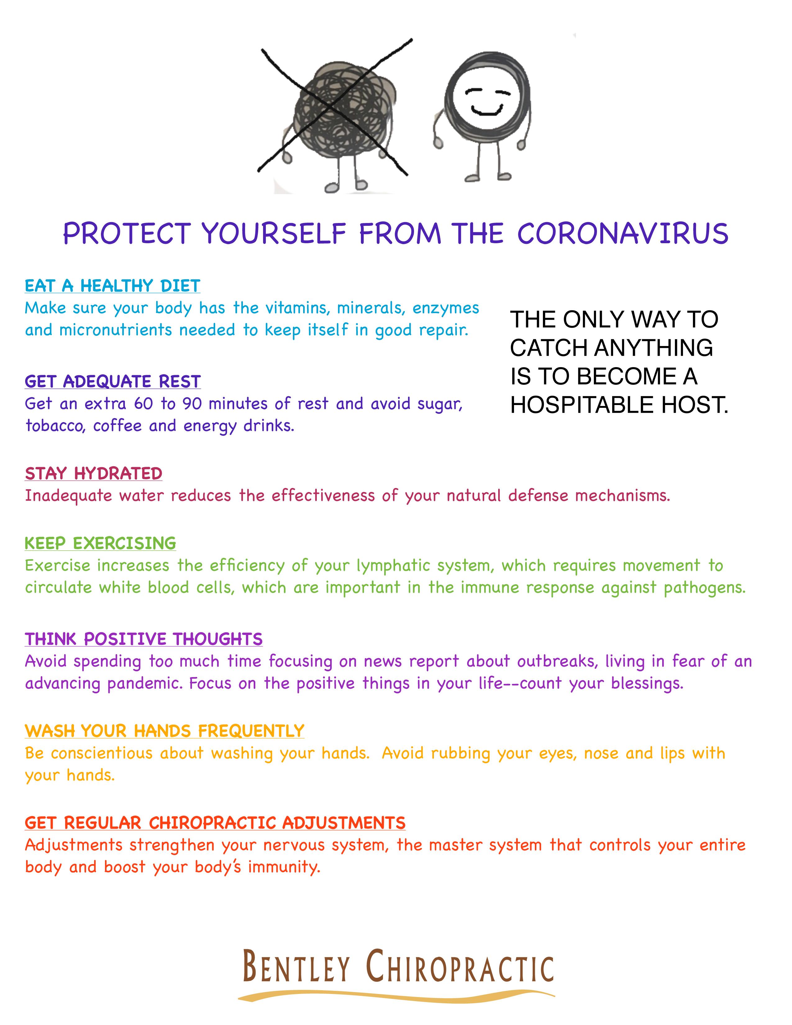 Corona virus handout
