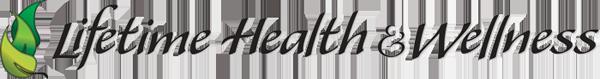 Lifetime Health & Wellness logo - Home