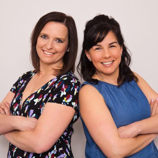 Denise McDermott and Dr. Josline Hampson