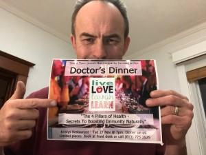 calm craig dr dinner