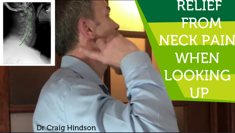 neck pain when looking up