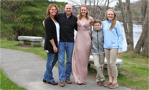 Dr. Jeffrey Slocum and family