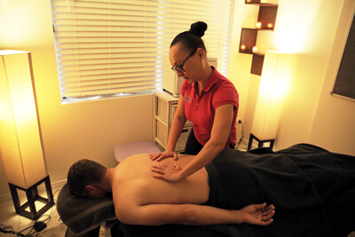 Massage therapy at Kirwan Complete Care