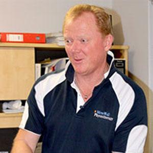 Mark Frith, Physiotherapist