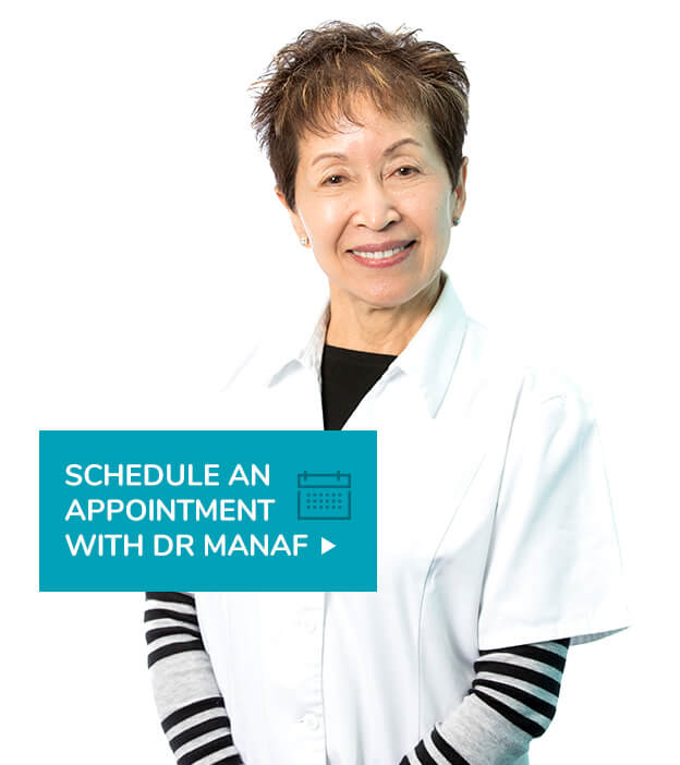 Schedule an appointment with Dr Manaf