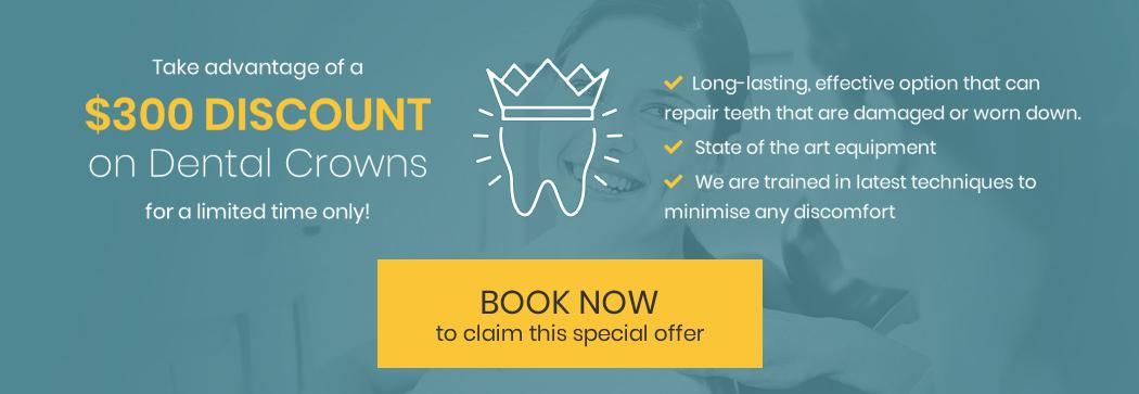 dental crowns special offer