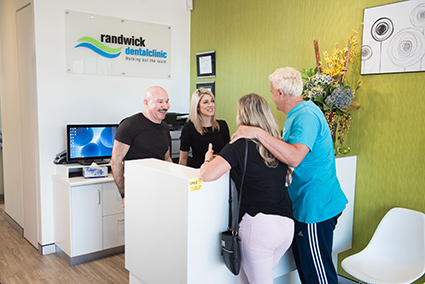 The dentists of Randwick Dental Clinic meeting patients