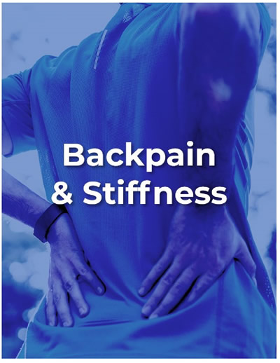 Cover backpain and stiffness