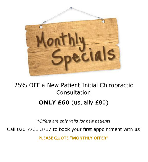 Monthly Special 25% off consultation