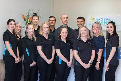 fraser shores friendly dental team