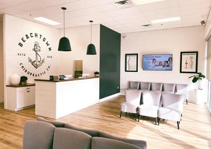 Beachtown Health & Wellness interior