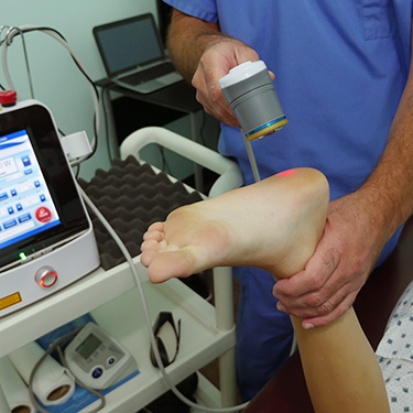 Laser therapy for Plantar Fasiitis in {PJ}