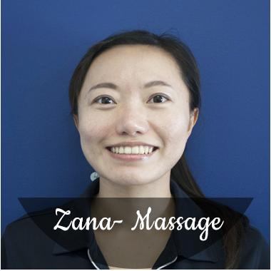 Zana Chen Massage Therapist