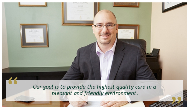 Our goal is to provide the highest quality care in a pleasant and friendly environment