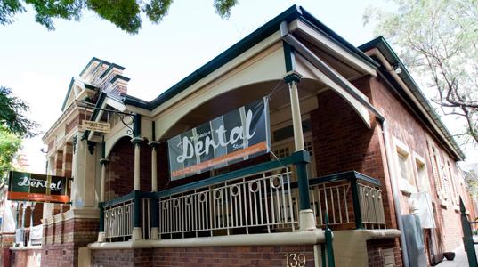 Exterior of Melbourne St Dental Studio
