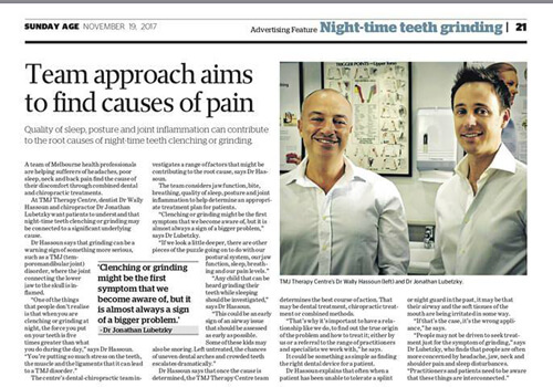 Team Approach Aims to Find Causes of Pain