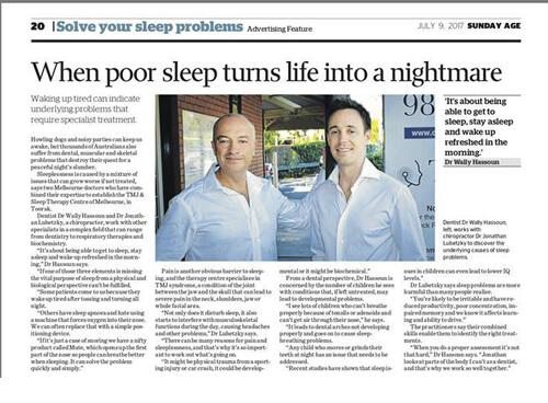 When Poor Sleep Turns into a Nightmare