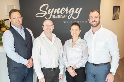 The team at Synergy Healthcare
