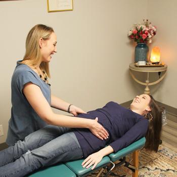 Pregnancy adjustment by Dr. Kimber