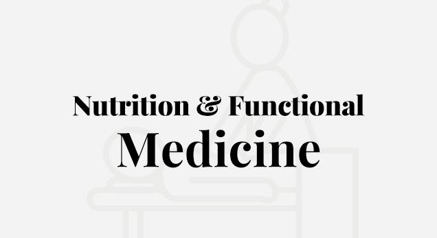 Nutrition & Functional Medicine