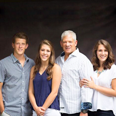 Dr. Snyder and his family