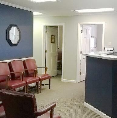 Waiting area at Lake Norman Chiropractic