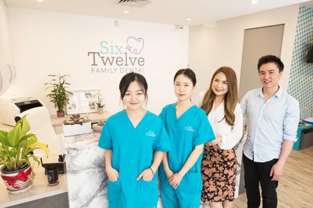 The team at Six Twelve Family Dental