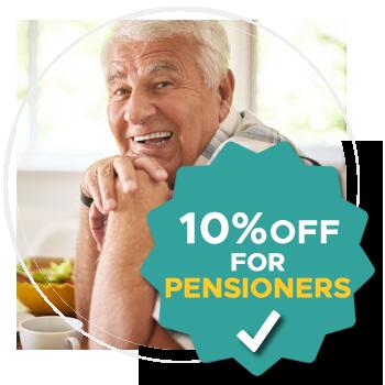 Dentures Wickham 10% Off for Pensioners