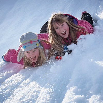 winter fun activity with kids