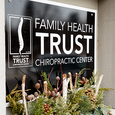 Family Health Trust Chiropractic Center sign