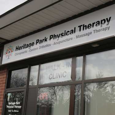 Heritage Park Physical Therapy front door