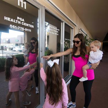 Patients entering clinic