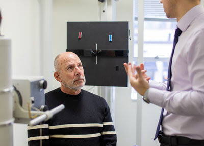 Xray consult with patient