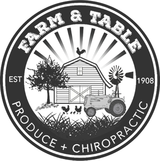 Farm & Table Chiropractic logo - Home