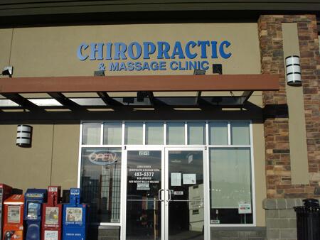 Exterior of Grange Lewis Estates Chiropractic, Massage & Acupuncture Clinic