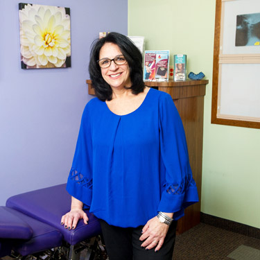Freedman Chiropractic Office Manager, Norma Freedman