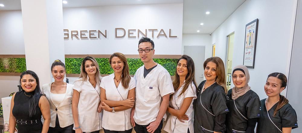 The team at Parramatta Green Dental