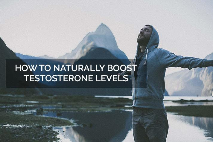 Boost testosterone levels naturally
